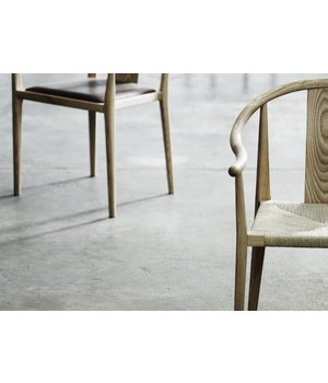 NORR11 Design stoel 'Shanghai' in de kleur Natural