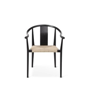 "NORR11 Design-Stuhl ""Shanghai"" in Schwarz-Naturel"