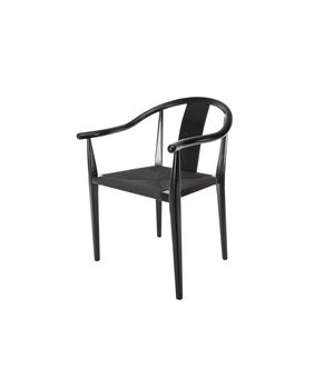 """NORR11 Design-Stuhl """"Shanghai"""" in Schwarz"""