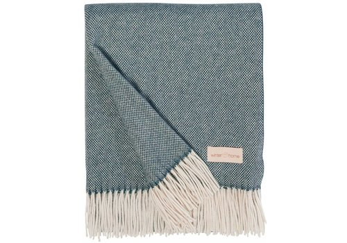 Winter-Home Cashmere plaid - Grace Lagoon
