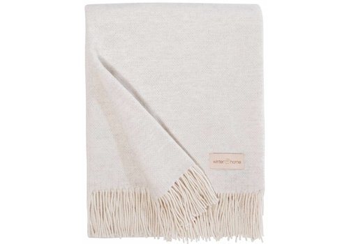 Winter-Home Cashmere plaid - Grace Ivory