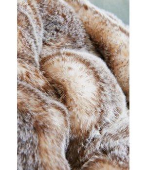 Winter-home Felldecke 'Tundrawolf' in 130 x 180cm