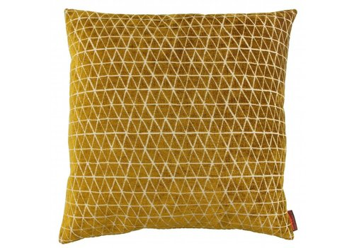 CLAUDI Design Cushion Mirmir Mustard