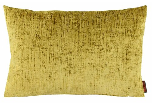 CLAUDI Design Cushion Vibeka Mustard