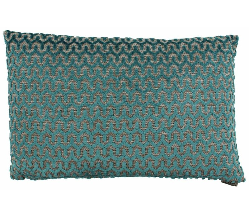 Cushion Jacopo in color Petrol