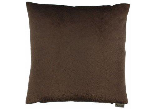 CLAUDI Chique Cushion Perla Chocolate