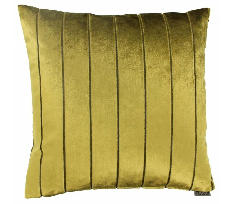 Cushion Bruno in color Mustard