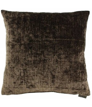 Claudi Cushion Vibeka color Chocolate