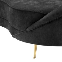 Couch Provocateur in schwarz