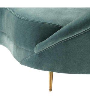 Eichholtz Sofa Provocateur Cameron deep turquoise