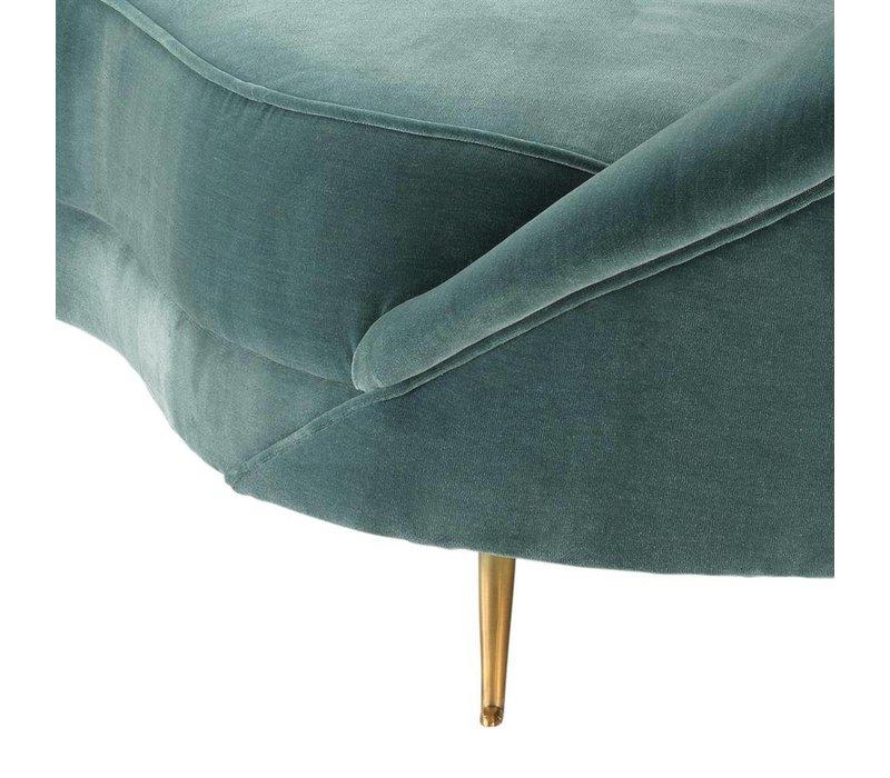 Sofa Provocateur Cameron deep turquoise
