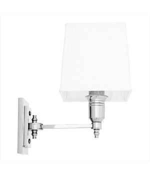 Eichholtz Wandlamp Lexington Single met witte kap