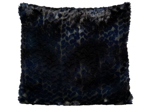 Winter-Home Cushion faux fur Panthera