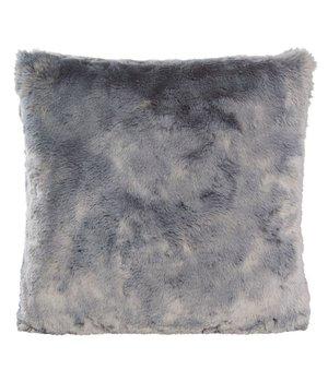 Winter-home Kussen bont 'Seal Silver Grey' in 45cm x 45cm
