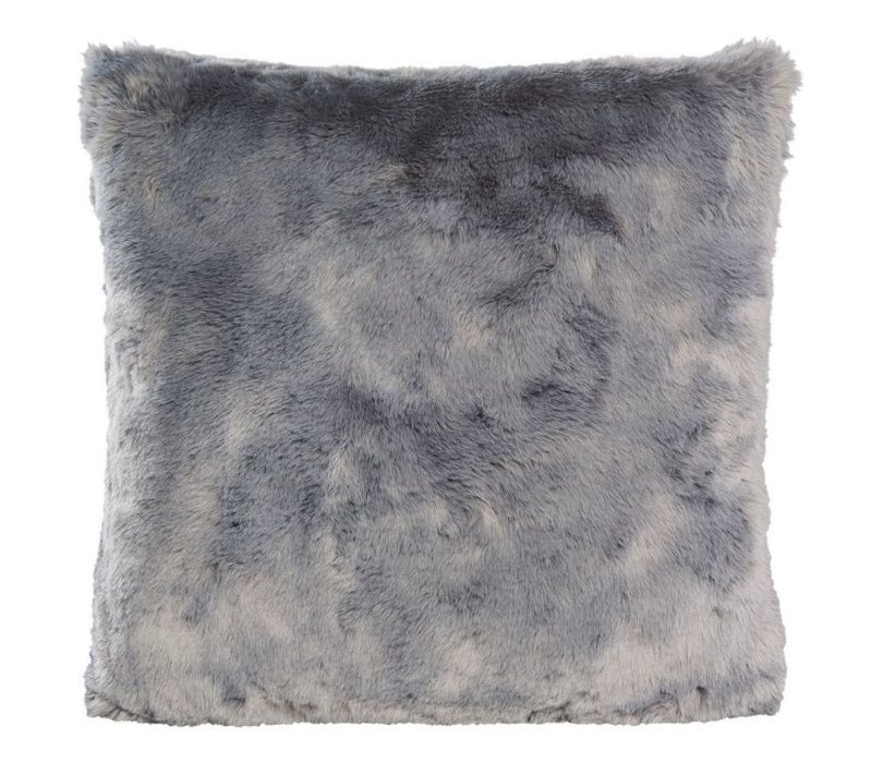 Fellkissen 'Seal Grey' in 45cm x 45cm