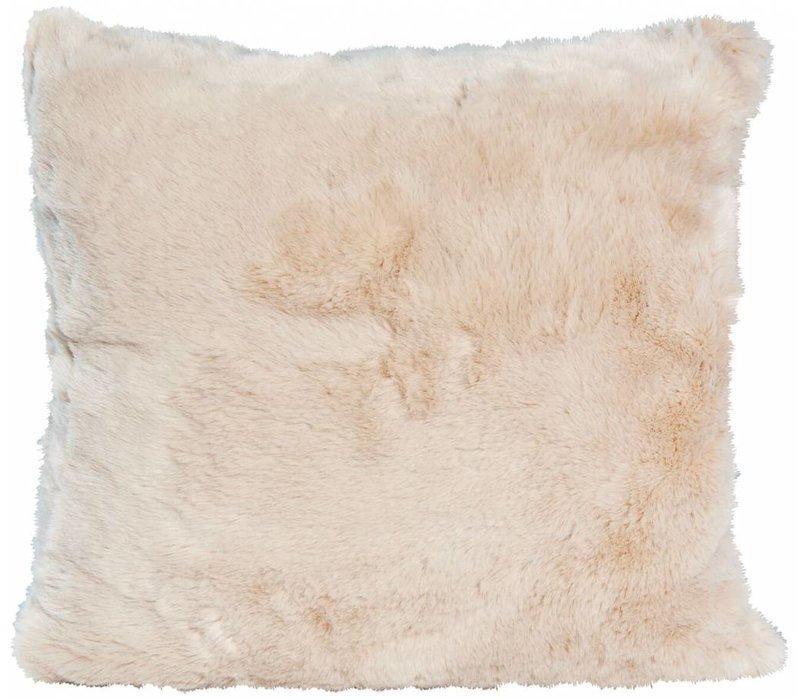 Fellkissen 'Seal Sand' in 45cm x 45cm