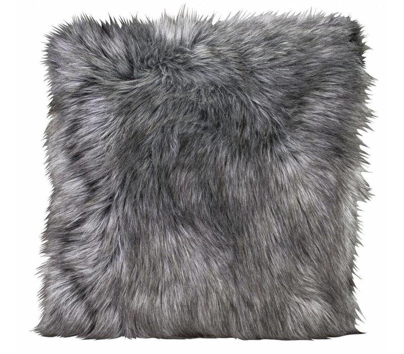 Fellkissen 'Tamaskanwolf' in 45cm x 45cm