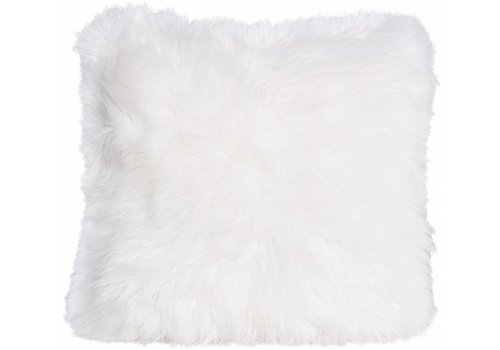 Winter-Home Cushion faux fur Articwolf