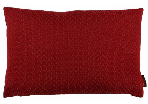 CLAUDI Design Cushion Stefan Dark Red