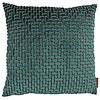 CLAUDI Design Cushion Ebbe color Petrol