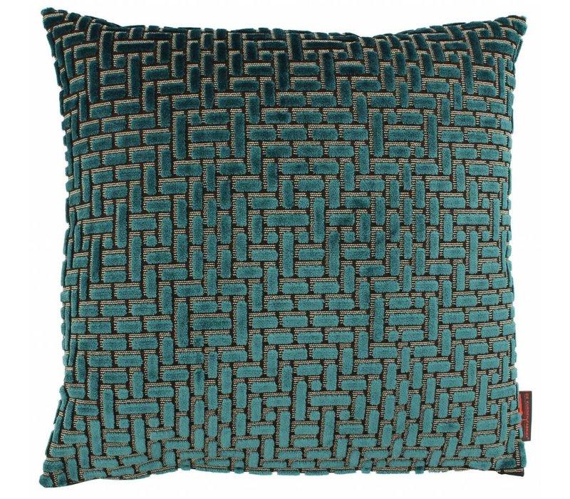 Cushion Ebbe color Petrol