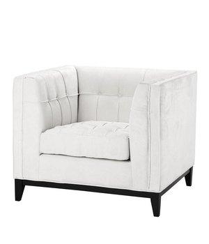Eichholtz Chair 'Aldgate' Ecru Velvet