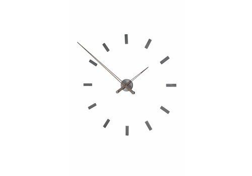 Nomon Large wall clock 'Tacón Graphite t'