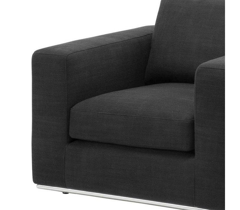 Eichholtz Chair 'Atlanta' Black Panama