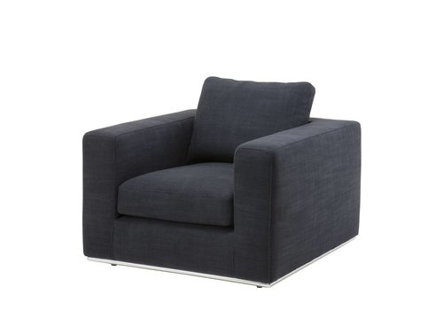 Eichholtz Chair 'Atlanta' Black Panama