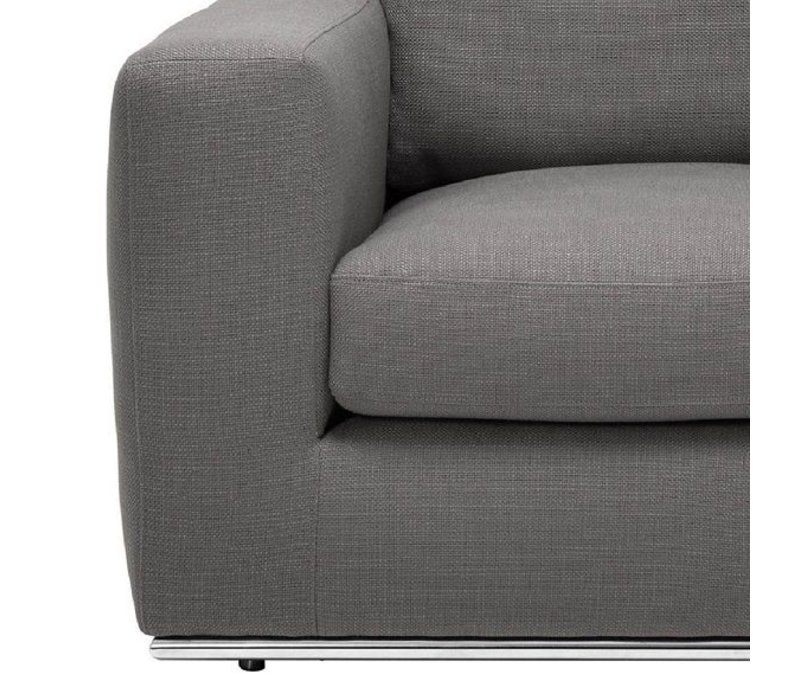 Eichholtz Chair 'Atlanta' Panama Charcoal