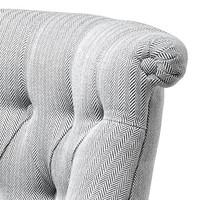 Eichholtz Chair 'Camden' Herringbone White & Black