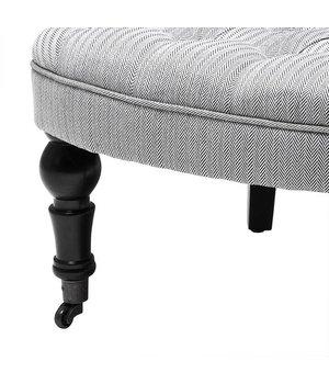 Eichholtz Eichholtz Chair 'Camden' Herringbone White & Black