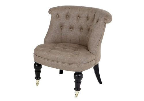 Eichholtz Chair 'Camden' Black Velvet - Copy