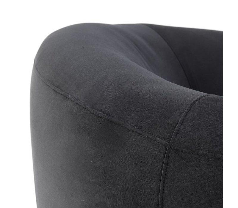 Eichholtz Chair 'Capio' Bague Black Velvet