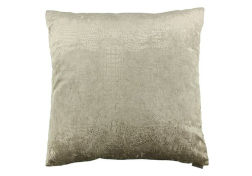 CLAUDI Chique throw pillow Esta sand