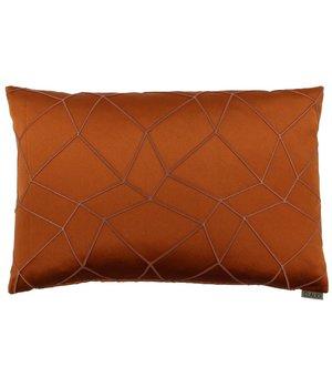 Claudi Cushion Christiano color Burned Orange