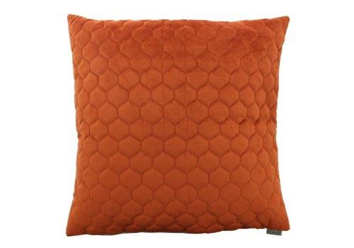 CLAUDI Chique Throw pillow Adrina Rust