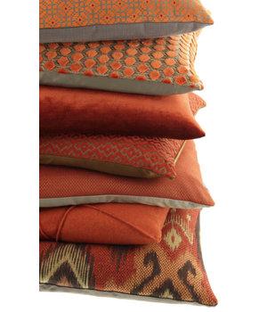 Claudi Throw pillow Adrina Color Rust