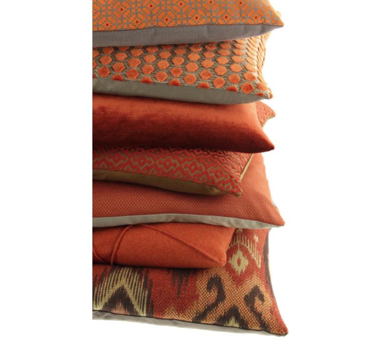 Zierkissen Adrina Farbe Rust