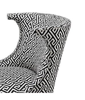 Eichholtz Chair 'Elson' Dudley Black