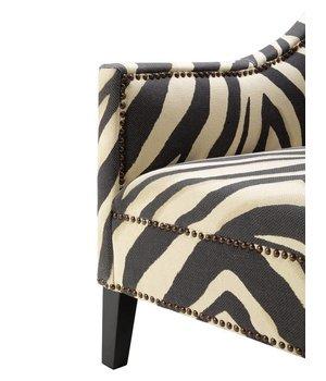 Eichholtz Fauteuil 'Jenner' Zebra Print