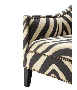 Eichholtz Stuhl 'Jenner' Zebra Print