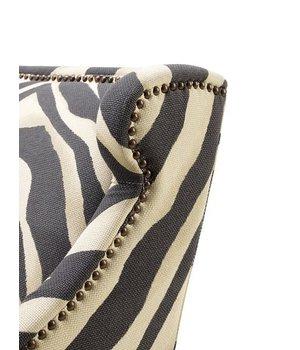 Eichholtz Chair 'Jenner' Zebra Print