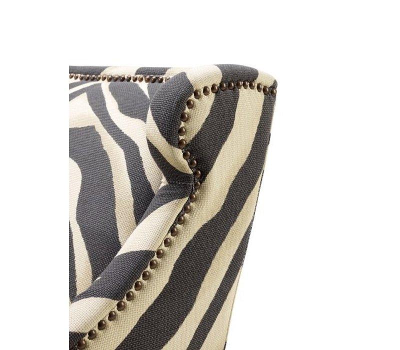 Sessel 'Jenner' Zebra Print