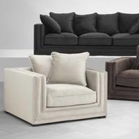 Chair 'Menorca' Stone Grey