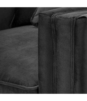Eichholtz Chair 'Menorca' Jet Black