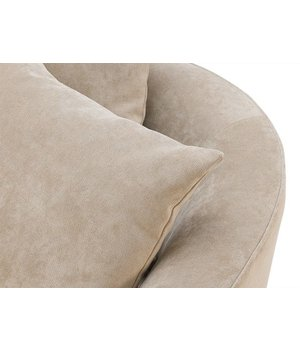 Eichholtz Chair 'Les Palmiers' Greige Velvet