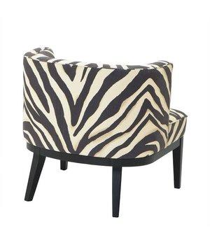 Eichholtz Stuhl 'Baldessari' Zebra Print