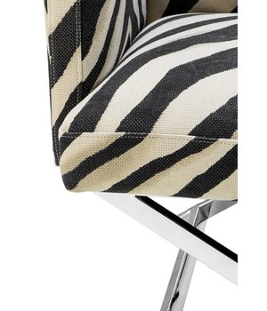 Eichholtz Sessel 'Dawson' Zebra Print