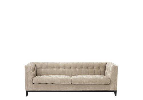 Eichholtz Sofa 'Aldgate' Greige Velvet